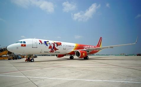 Tàu bay biểu tượng 45 năm quan hệ Việt – Pháp đã về đến Việt Nam