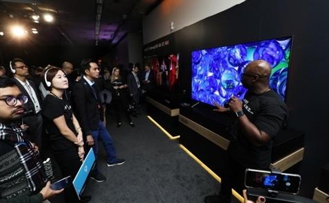 Samsung đang nhắm đến vị trí số 1 trong phân khúc TV cao cấp