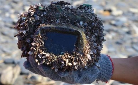 Hành trình kỳ diệu của chiếc camera lạc dưới đáy biển