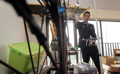 Giới buôn lậu Trung Quốc dùng drone để vận chuyển iPhone