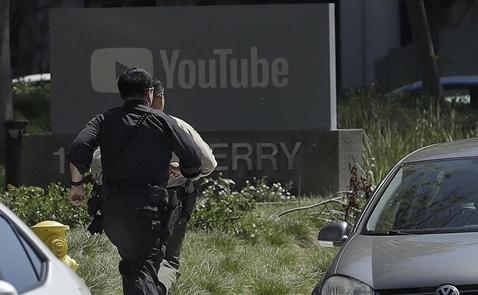 Xả súng tại trụ sở YouTube khiến 1 người chết, 4 người bị thương