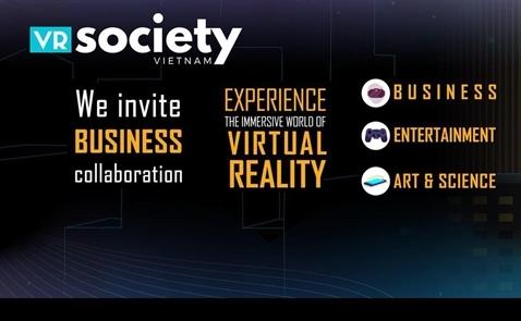 VR Society Việt Nam giới thiệu game thực tế ảo tại VIBA Show 2018