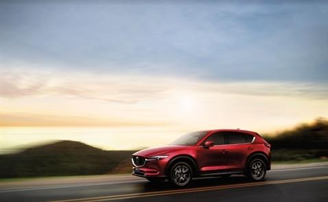 Mazda CX5 tiếp tục thống trị phân khúc CUV