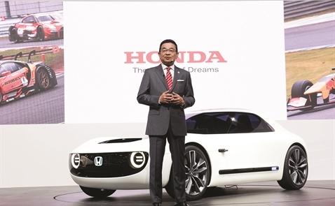 Honda 70 tuổi nuôi tinh thần startup