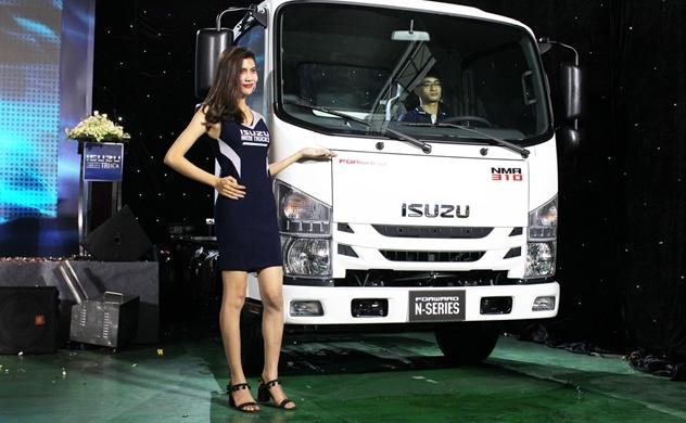 Isuzu mở màn cuộc đua giảm khí thải xe tải