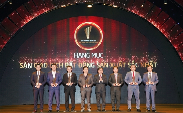 DKRA Việt Nam đạt gải thưởng quốc gia bất động sản 2018