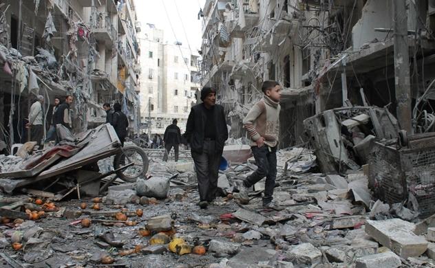 Syria: Thiên đường tan nát trong chiến tranh
