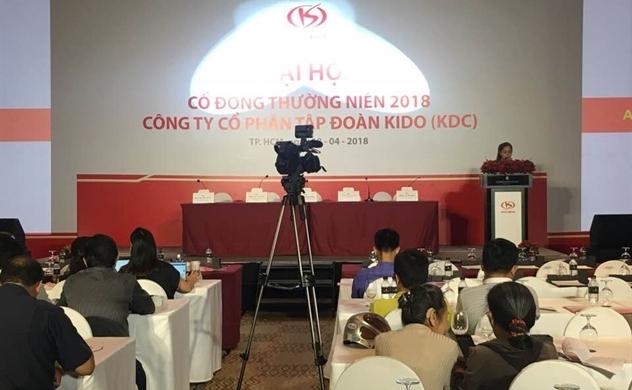 Kido sẽ đẩy mạnh ngành hàng thiết yếu trong năm 2018