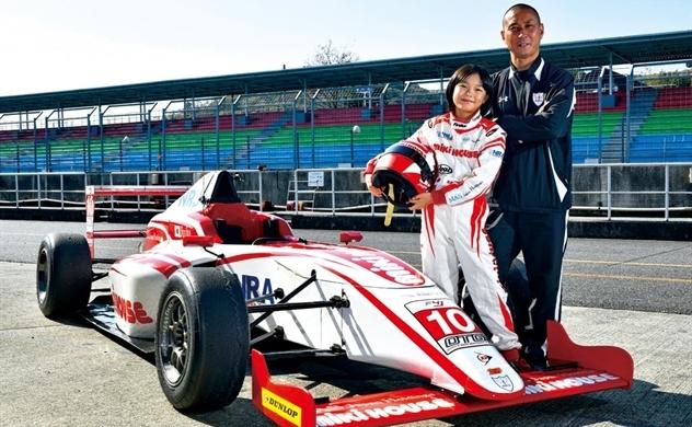 Juju Noda, cô bé 12 tuổi với ước mơ trở thành tay đua F1