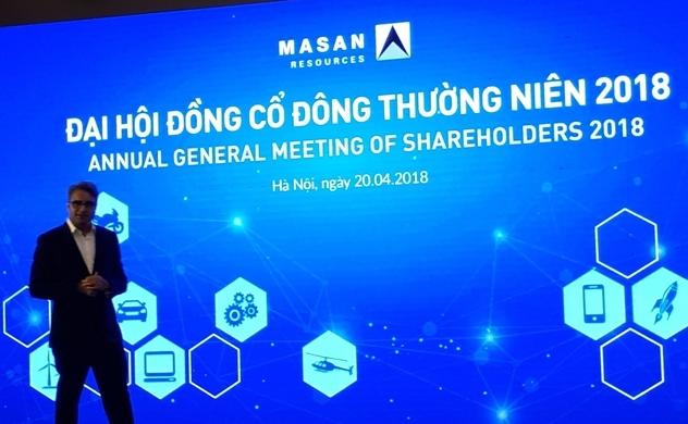 Masan Resources đặt chỉ tiêu 8.000 tỷ đồng cho năm 2018