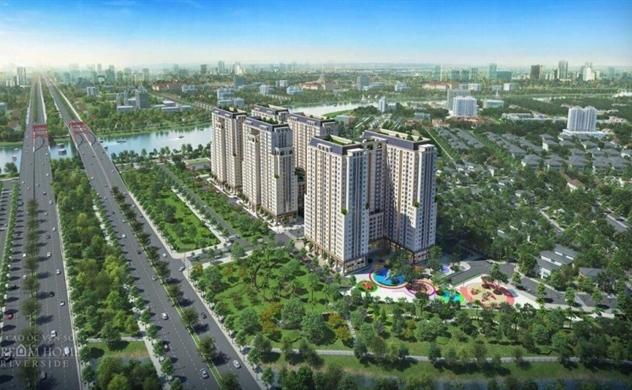 Ra mắt tháp Sapphire thuộc khu cao ốc ven sông Dream Home Riverside