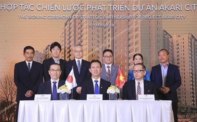 Nam Long hợp tác với đối tác Nhật phát triển dự án Akari 341 triệu USD