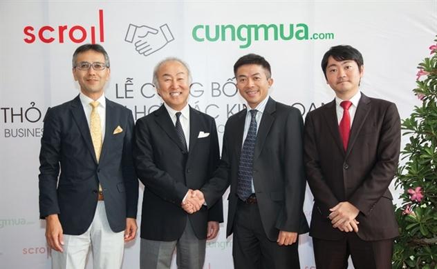 Vốn Nhật đổ vào Nhommua.com