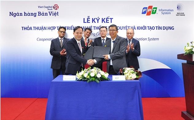 Bản Việt triển khai hệ thống  phê duyệt và khởi tạo tín dụng