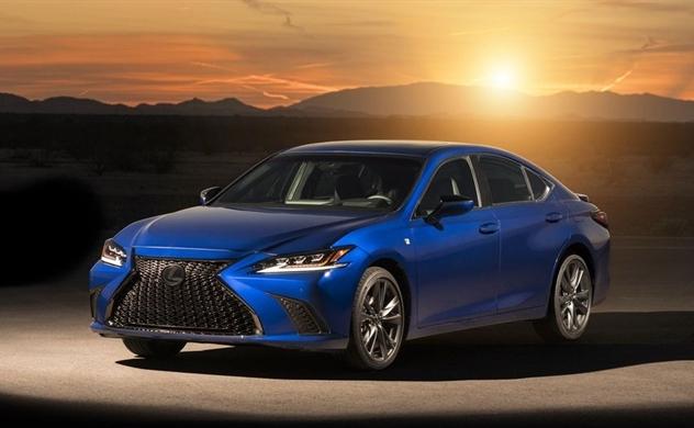 Lexus ES 2019 thế hệ mới