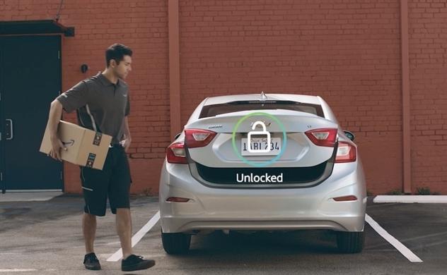 Không chỉ ở trong nhà, Amazon còn muốn giao hàng vào cốp xe của bạn