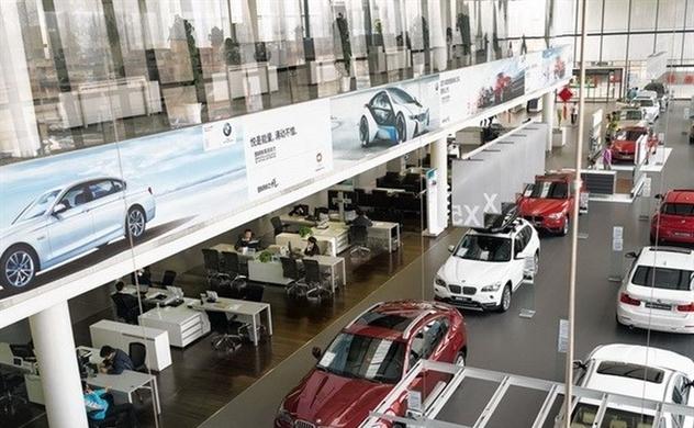 Ôtô nhập khẩu giảm 84%