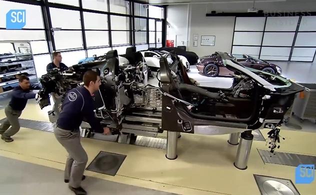 Cận cảnh quy trình sản xuất siêu xe Bugatti Veyron