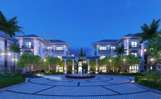 SCC ra mắt khu biệt thự compound cao cấp Sol Villas