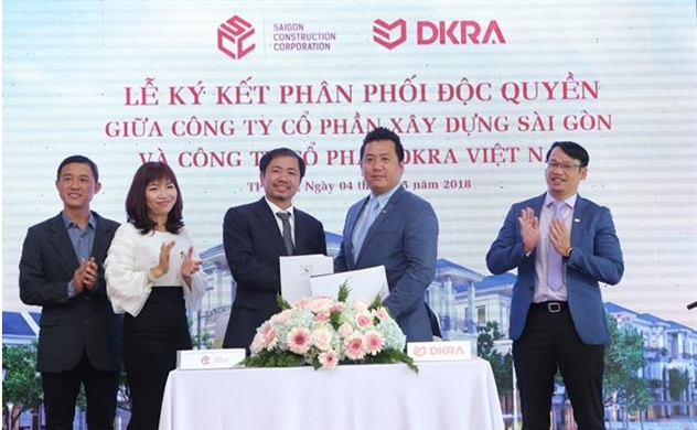 DKRA phân phối độc quyền khu biệt thự compound Sol Villas