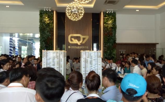 Q7 Saigon Riverside Complex chính thức mở bán