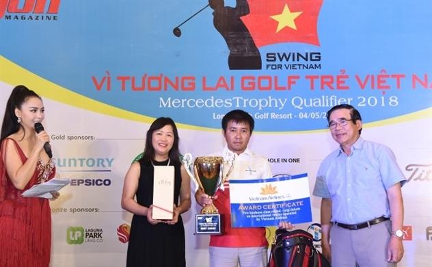 Giải golf Swing For Vietnam & Mercedes Trophy Qualifier