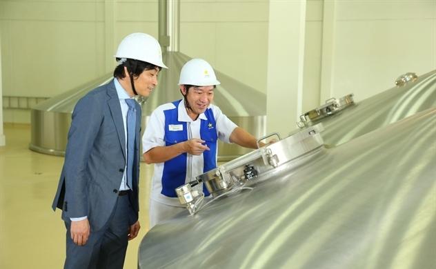 Sapporo đầu tư thêm 1 triệu USD để giảm khí thải nhà kính