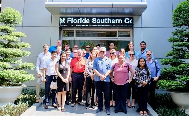 Gỗ An Cường tiếp Giáo sư Chuck Duval và đoàn MBA Trường Florida Southern College