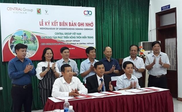 Central Group Việt Nam triển khai dự án Sinh kế Cộng đồng
