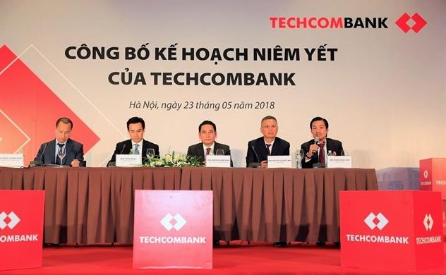 Techcombank sẽ niêm yết cổ phiếu với giá khởi điểm 128.000 đồng