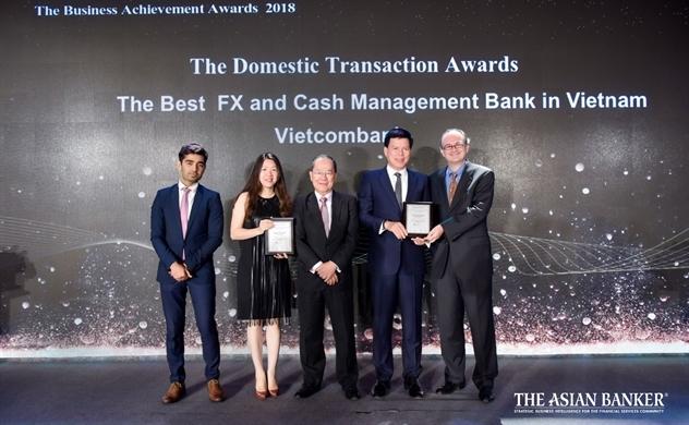 The Asian Banker trao hai giải thưởng cho Vietcombank