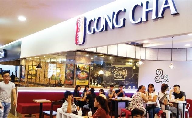 Gong Cha thận trọng nhượng quyền