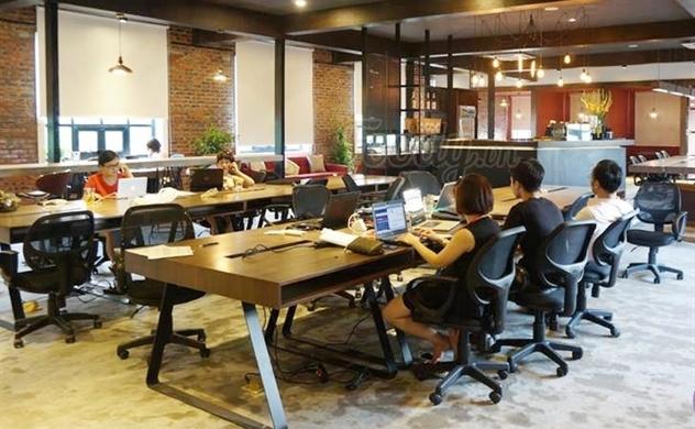 Co-working space cạnh tranh văn phòng truyền thống