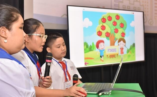 Google mang ngôn ngữ lập trình Scratch đến học sinh