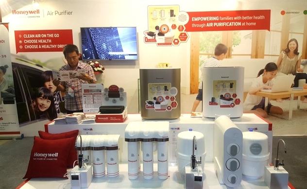 Honeywell giới thiệu máy lọc không khí và máy lọc nước thông minh