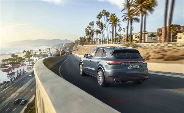 Porsche Cayenne hoàn toàn mới: Siêu phẩm hạ cánh