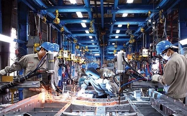 Chỉ số PMI tháng 5 của Việt Nam tăng mạnh lên 53,9 điểm.