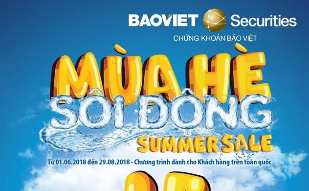 """""""Mùa hè sôi động"""" cùng Chứng khoán Bảo Việt"""