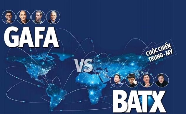 Cuộc chiến Mỹ-Trung: GAFA v.s BATX