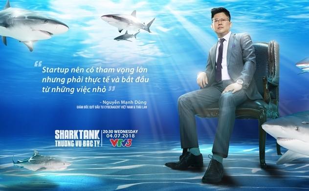 Đại diện CyberAgent Việt Nam và Thái Lan tham gia Shark Tank mùa 2