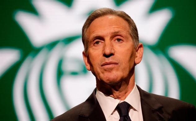 Ông chủ Starbucks sẽ tranh cử Tổng thống Mỹ năm 2020