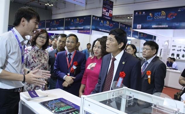 Vietnam ICTCOMM 2018 thu hút hơn 300 doanh nghiệp tham dự