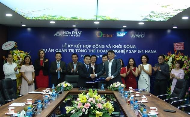 CITEK  triển khai SAP S/4HANA cho Hòa Phát Dung Quất