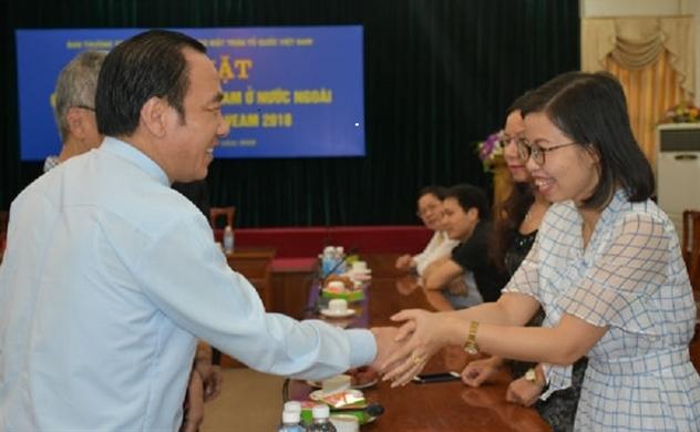 Kiều bào Pháp tham dự Hội nghị VEAM 2018 tại Việt Nam