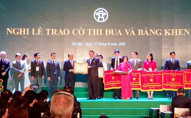 Tân Hoàng Minh đón nhận Bằng khen của Thủ tướng Chính phủ