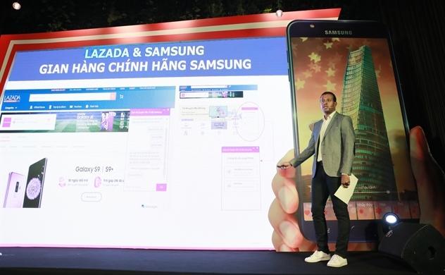Lazada hợp tác Samsung bán độc quyền Galaxy J7 Duo