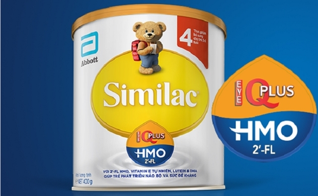 Similac Eye-Q Plus: Sữa công thức đầu tiên được bổ sung HMO