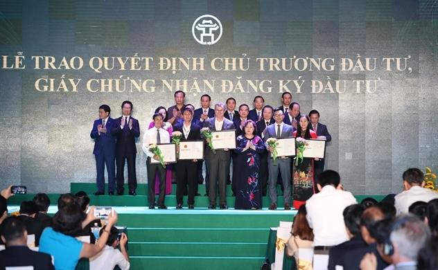 Hà Nội dẫn đầu cả nước về thu hút FDI