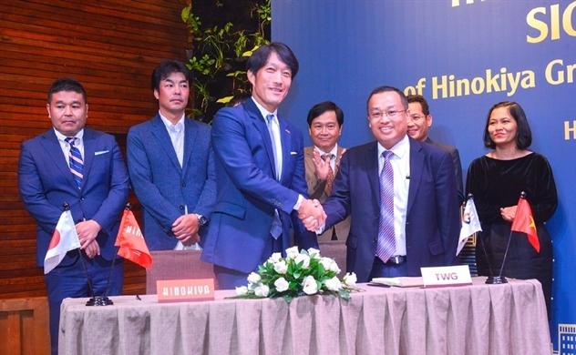 Tập đoàn TWG hợp tác chiến lược cùng Hinokiya Nhật Bản