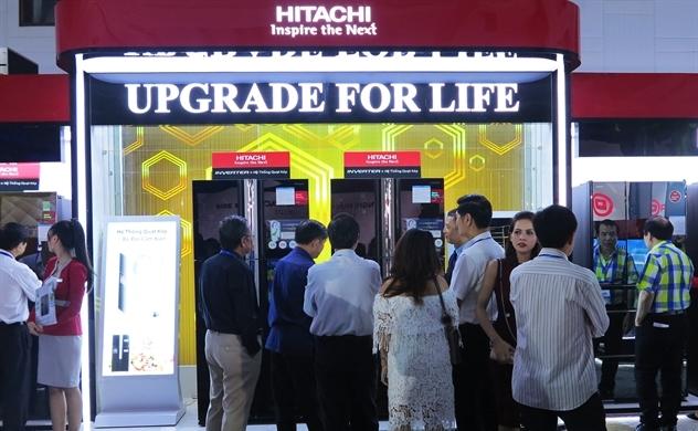 Hitachi Home Electronics Việt Nam ra mắt các sản phẩm chủ lực 2018